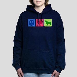 Peace Love Newfie Sweatshirt