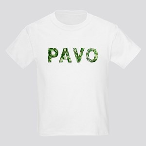 Pavo, Vintage Camo, Kids Light T-Shirt