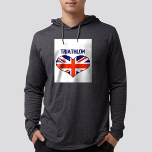 LOVETRIATHLON UNION JACK Mens Hooded Shirt