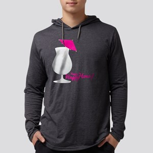 Happy Hour Mens Hooded Shirt
