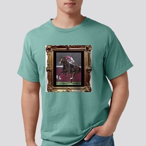 Horse Racing Mens Comfort Colors Shirt