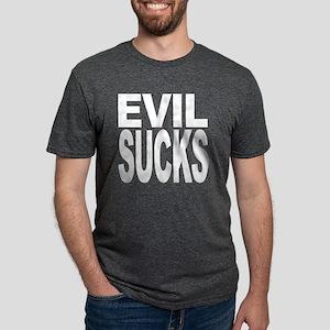 evilsuckswht Mens Tri-blend T-Shirt