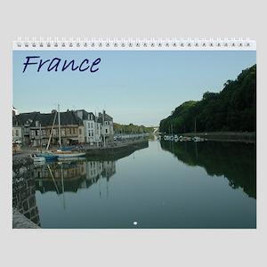 France Wall Calendar