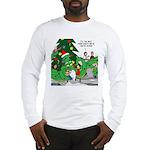 Santa Squid Long Sleeve T-Shirt