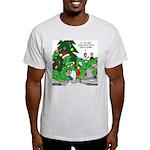 Santa Squid Light T-Shirt