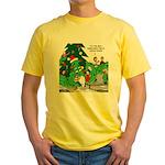 Santa Squid Yellow T-Shirt