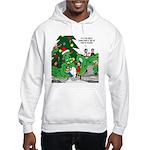 Santa Squid Hooded Sweatshirt