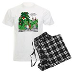 Santa Squid Men's Light Pajamas