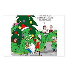 Santa Squid Postcards (Package of 8)