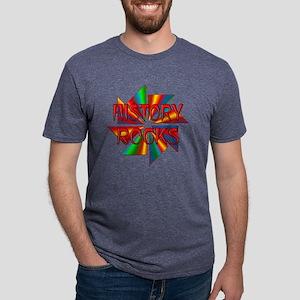 History Rocks Mens Tri-blend T-Shirt