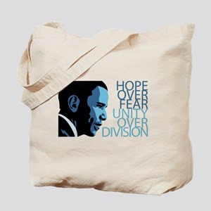 Obama Blue Tones Tote Bag
