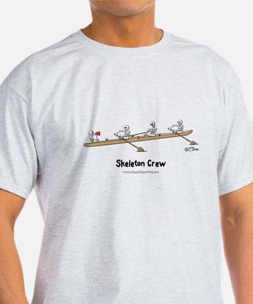 Skeleton Crew White Tees T-Shirt