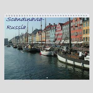 Scandinavia-Russia Wall Calendar