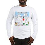Polar Bear Snack Long Sleeve T-Shirt