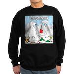 Polar Bear Snack Sweatshirt (dark)