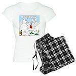 Polar Bear Snack Women's Light Pajamas