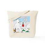 Polar Bear Snack Tote Bag