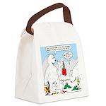 Polar Bear Snack Canvas Lunch Bag