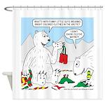 Polar Bear Snack Shower Curtain