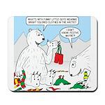 Polar Bear Snack Mousepad