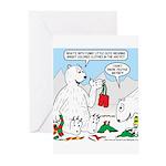 Polar Bear Snack Greeting Cards (Pk of 10)