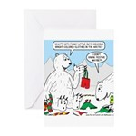 Polar Bear Snack Greeting Cards (Pk of 20)