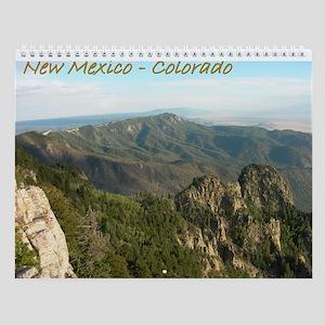 New Mexico-Colorado Wall Calendar