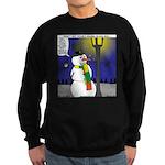 Snowman Scarf Sweatshirt (dark)