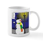 Snowman Scarf Mug