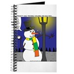 Snowman Scarf Journal