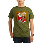 Storefront Santa Wish Organic Men's T-Shirt (dark)
