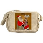 Storefront Santa Wish Messenger Bag