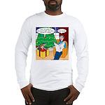 Waiting Up for Santa Long Sleeve T-Shirt