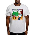 Waiting Up for Santa Light T-Shirt