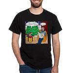 Waiting Up for Santa Dark T-Shirt