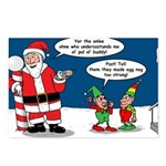 Santa's Party Postcards (Package of 8)