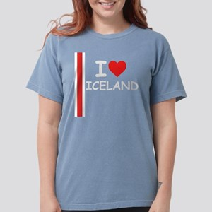 Iceland Stripe DS Womens Comfort Colors Shirt