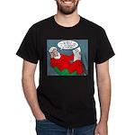 Santa's Bad List Dark T-Shirt