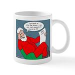 Santa's Bad List Mug