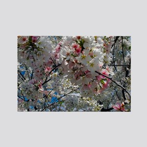Beautiful Photograph of Summer Blossoms Rectangle