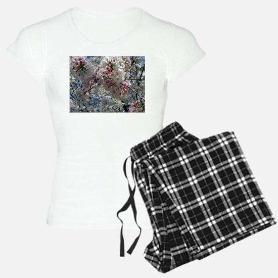Beautiful Photograph of Summer Blossoms Pajamas