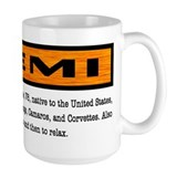 Cars Large Mugs (15 oz)