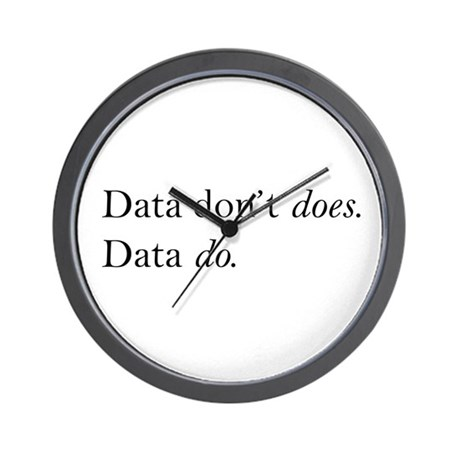 Data Dont Does Wall Clock