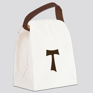 Tau Cross or Crux Commissa Canvas Lunch Bag