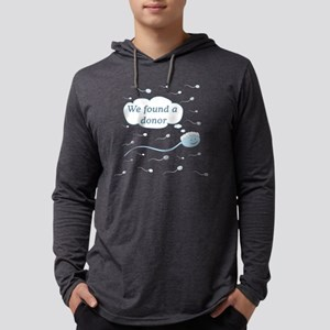 donorfound Mens Hooded Shirt