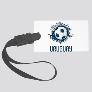 Uruguay Football Large Luggage Tag