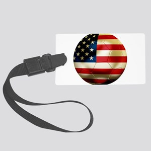 USA Soccer Large Luggage Tag