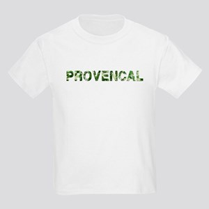 Provencal, Vintage Camo, Kids Light T-Shirt