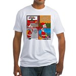 Santa Gets No Respect Fitted T-Shirt
