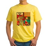 Santa Gets No Respect Yellow T-Shirt